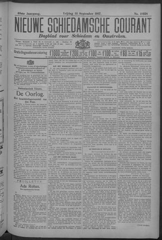 Nieuwe Schiedamsche Courant 1917-09-14