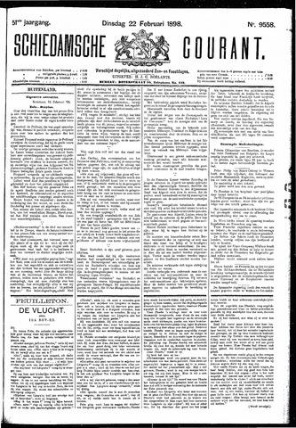 Schiedamsche Courant 1898-02-22