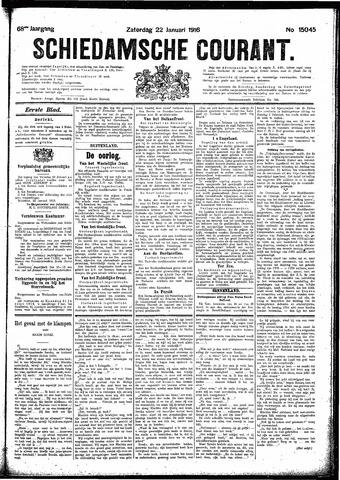 Schiedamsche Courant 1916-01-22