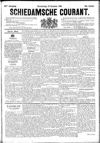 Schiedamsche Courant 1910-10-13