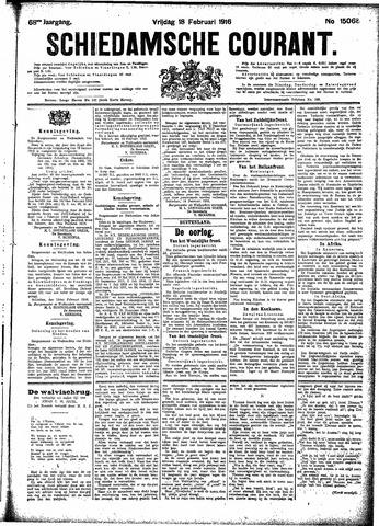 Schiedamsche Courant 1916-02-18