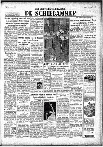 Rotterdamsch Parool / De Schiedammer 1948-10-01