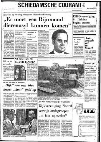 Rotterdamsch Nieuwsblad / Schiedamsche Courant / Rotterdams Dagblad / Waterweg / Algemeen Dagblad 1974-09-14