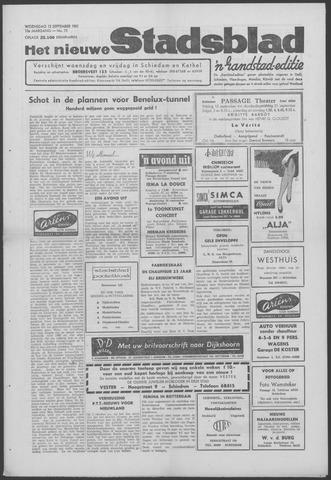 Het Nieuwe Stadsblad 1961-09-13