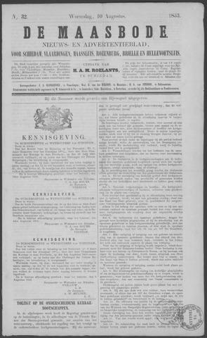 De Maasbode 1853-08-10