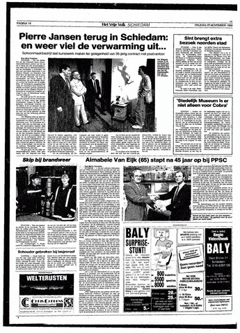 Het Vrije volk 1988-11-25
