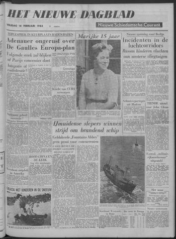 Nieuwe Schiedamsche Courant 1962-02-16