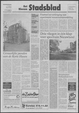Het Nieuwe Stadsblad 1992-10-23