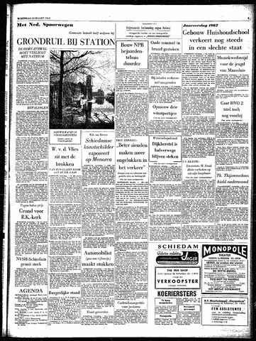 Rotterdamsch Parool / De Schiedammer 1963-03-20