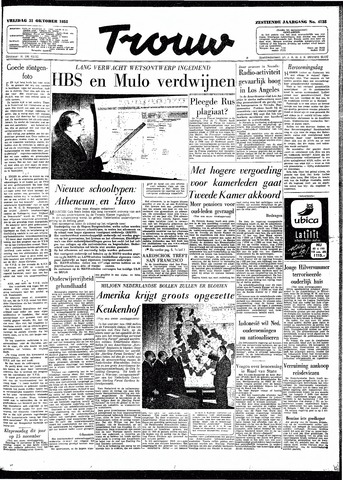 Trouw / De Rotterdammer 1958-10-31