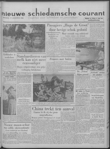 Nieuwe Schiedamsche Courant 1958-08-19