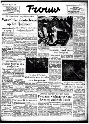 Trouw / De Rotterdammer 1957-06-17