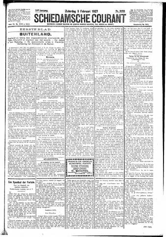 Schiedamsche Courant 1927-02-05