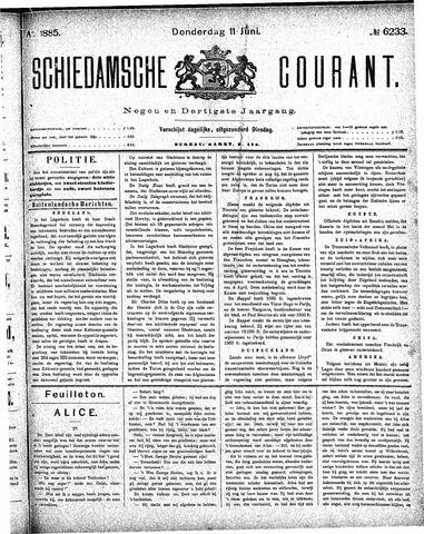 Schiedamsche Courant 1885-06-11