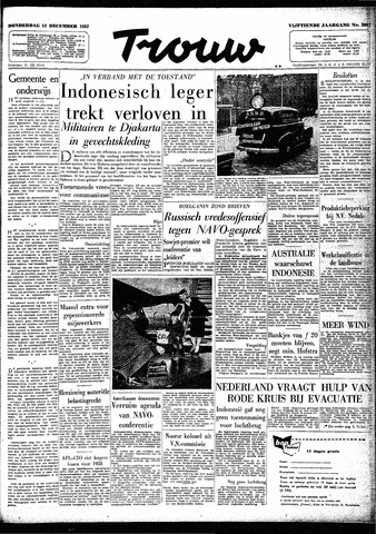 Trouw / De Rotterdammer 1957-12-12