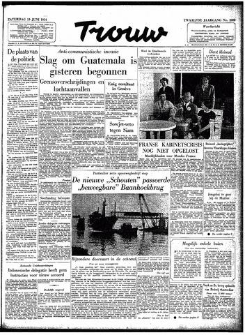 Trouw / De Rotterdammer 1954-06-19