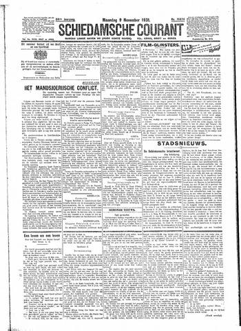Schiedamsche Courant 1931-11-09