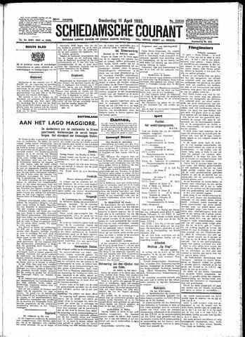 Schiedamsche Courant 1935-04-11