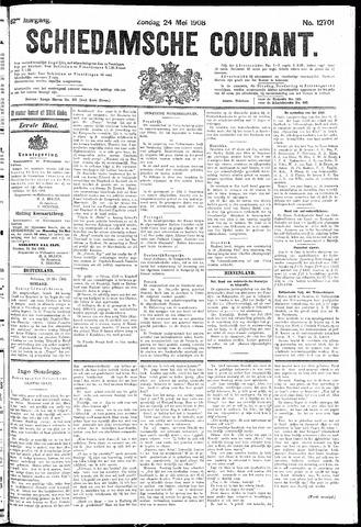 Schiedamsche Courant 1908-05-24