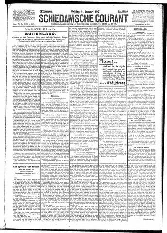 Schiedamsche Courant 1927-01-14