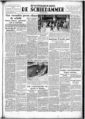 Rotterdamsch Parool / De Schiedammer 1947-04-15
