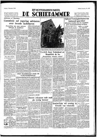 Rotterdamsch Parool / De Schiedammer 1948-12-03