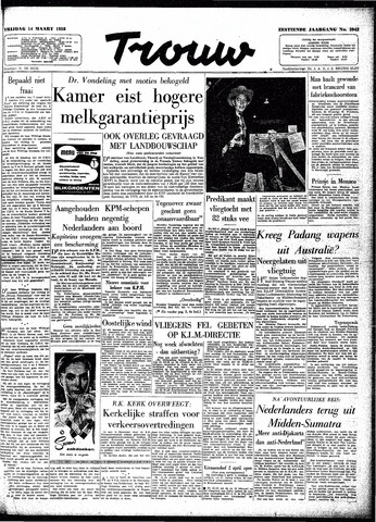 Trouw / De Rotterdammer 1958-03-14