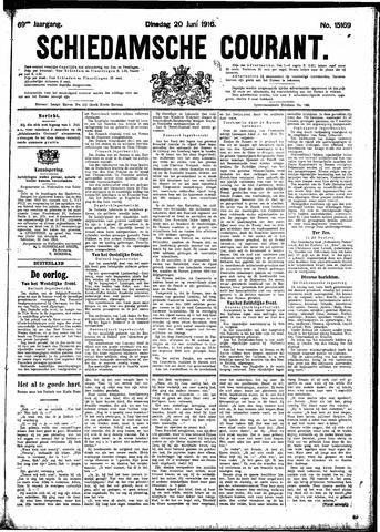 Schiedamsche Courant 1916-06-20