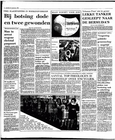 Rotterdamsch Parool / De Schiedammer 1968-09-23