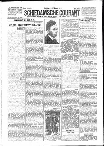 Schiedamsche Courant 1933-03-24