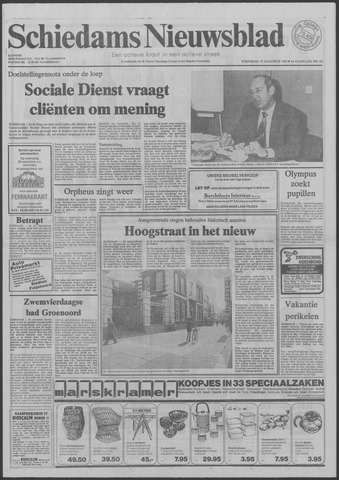 Schiedams Nieuwsblad 1981-08-19