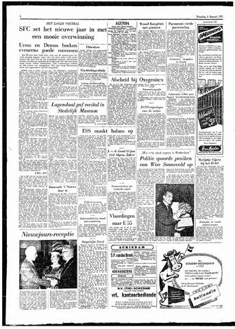 Rotterdamsch Parool / De Schiedammer 1955-01-03