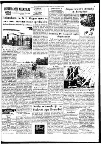 Rotterdamsch Nieuwsblad / Schiedamsche Courant / Rotterdams Dagblad / Waterweg / Algemeen Dagblad 1964-08-14