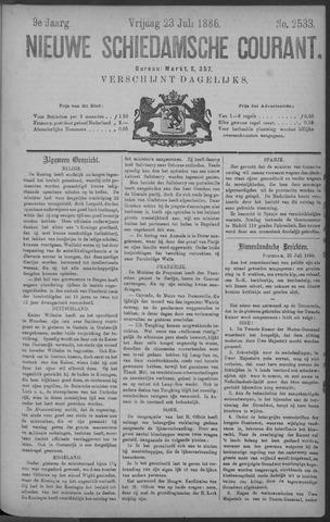 Nieuwe Schiedamsche Courant 1886-07-23