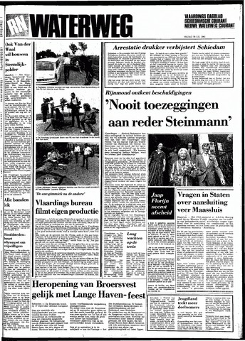 Rotterdamsch Nieuwsblad / Schiedamsche Courant / Rotterdams Dagblad / Waterweg / Algemeen Dagblad 1983-07-29