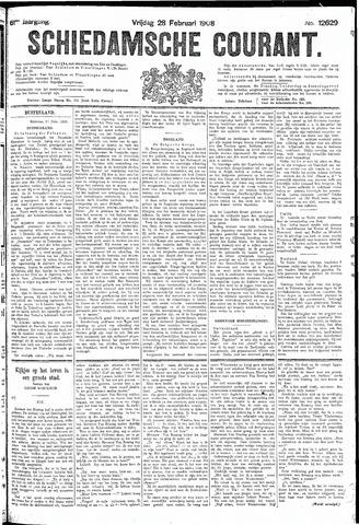 Schiedamsche Courant 1908-02-28