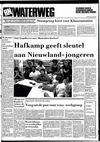 Rotterdamsch Nieuwsblad / Schiedamsche Courant / Rotterdams Dagblad / Waterweg / Algemeen Dagblad 1983-06-09