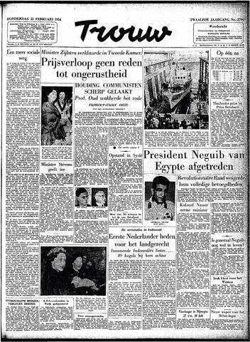Trouw / De Rotterdammer 1954-02-25