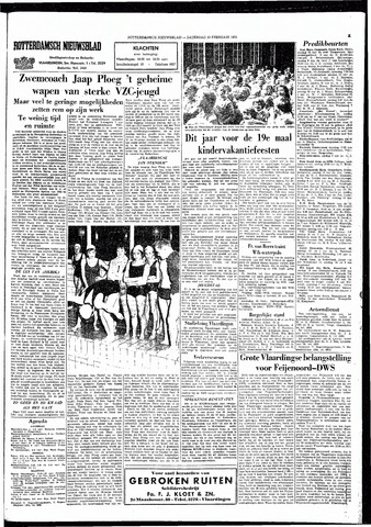 Rotterdamsch Nieuwsblad / Schiedamsche Courant / Rotterdams Dagblad / Waterweg / Algemeen Dagblad 1965-02-13