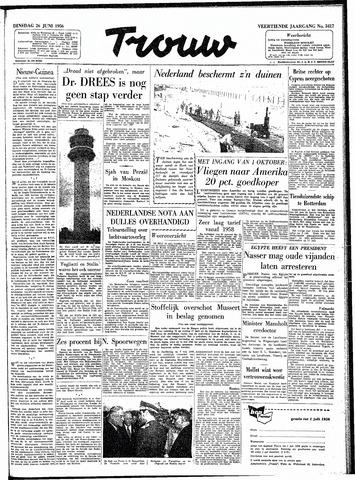 Trouw / De Rotterdammer 1956-06-26