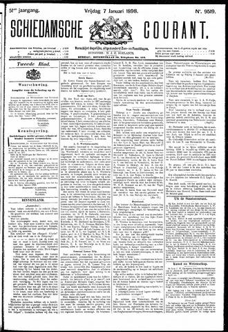Schiedamsche Courant 1898-01-07