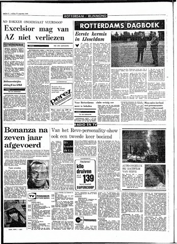 Rotterdamsch Parool / De Schiedammer 1970-08-21