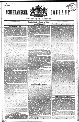 Schiedamsche Courant 1866-10-03