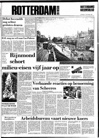 Rotterdamsch Nieuwsblad / Schiedamsche Courant / Rotterdams Dagblad / Waterweg / Algemeen Dagblad 1983-12-17