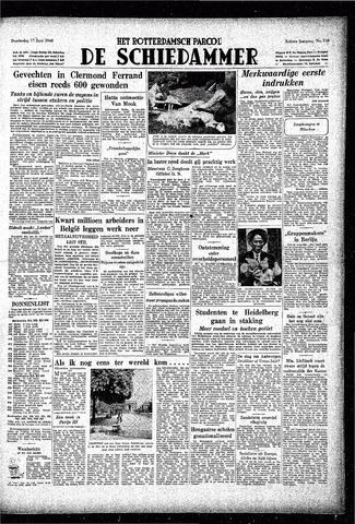 Rotterdamsch Parool / De Schiedammer 1948-06-17