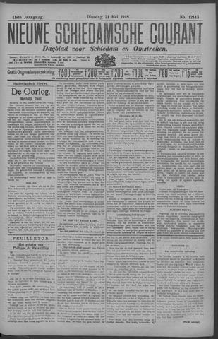 Nieuwe Schiedamsche Courant 1918-05-21