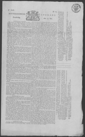 Rotterdamse Courant 1826-05-25