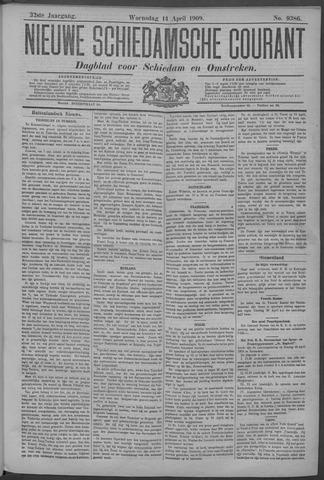 Nieuwe Schiedamsche Courant 1909-04-14
