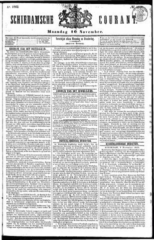 Schiedamsche Courant 1862-11-10