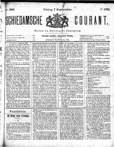 Schiedamsche Courant 1883-09-07